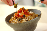 キノコナムルの韓国丼の作り方3