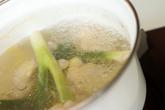鶏スープうどんの作り方2