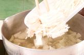 ワカメとエノキのみそ汁の作り方1
