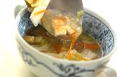 白菜の中華風スープの作り方2
