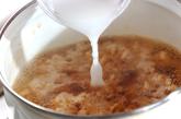 あんかけ豆腐の鶏そぼろの作り方2