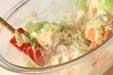 キャベツのタラマヨ和えの作り方1