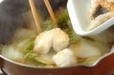 タラと白菜のおろし煮の作り方2