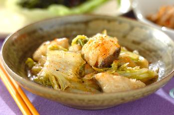 タラと白菜のおろし煮