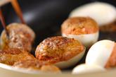 卵のひき肉詰め焼きの作り方3