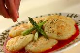 トマトソースのポテトチーズ餅の作り方4