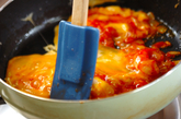 エビと卵のチリ炒めの作り方3