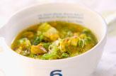 鶏スープ・カレー風味