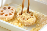 レンコンのサクサクチーズフライの作り方2