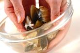 貝の豆乳白みそパスタの作り方1