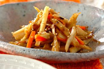 根菜3種のきんぴら