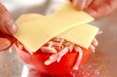 トマトのホイル焼きの作り方1