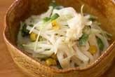 ホタテ風味の大根サラダ