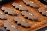 ハロウィンコウモリクッキーの作り方4