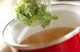 豆腐のショウガスープの作り方2