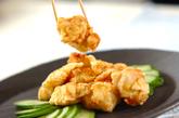 鶏むね肉の香り天ぷらの作り方2