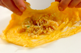 卵包みチャーハンの作り方3