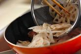 レンコンのオイスター炒めの作り方1