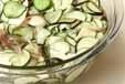 夏野菜の塩水漬けの作り方1