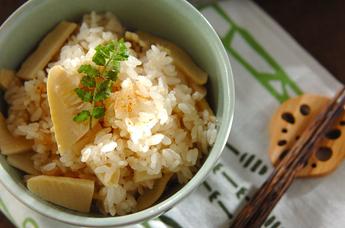 タケノコのシンプルご飯