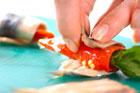 イワシのビネガー漬けロールの作り方4