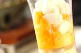 秋の収穫ジュースの作り方1