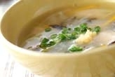 鶏のあんとじスープ