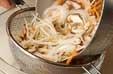 モヤシとニンジンの甘酢の作り方1
