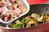 豚肉とナスのみそ炒めの作り方2