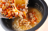 鶏ご飯の作り方3