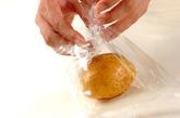 ポテトの卵とじの作り方1