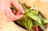 グリーンサラダの作り方1