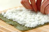 新ワカメの巻き寿司の作り方2