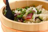 漬けカツオ寿司の作り方2