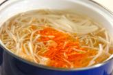 モヤシのヘルシー甘酢和えの作り方1