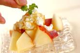 リンゴとカッテージチーズのデザートの作り方1