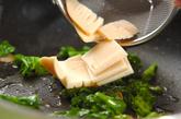 菜の花のパスタの作り方2
