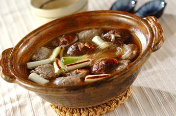 サンマの土鍋スープ