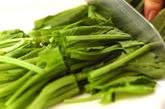豚肉と野菜の蒸し焼き・韓国風つけダレの下準備2