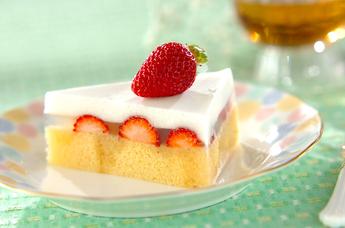 寒天ショートケーキ