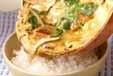 ウナギ卵とじ丼の作り方4