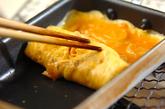 切干し大根の煮物入り卵焼きの作り方2