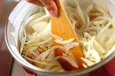 たっぷり玉ネギのトマトスープの作り方1