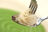 パリパリ素麺のクリームソースの作り方1
