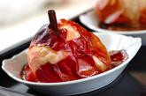 シナモン風味の焼きリンゴの作り方2