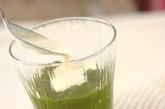 抹茶ゼリー・バニラソースの作り方3