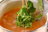 葛きり入りスープの作り方2