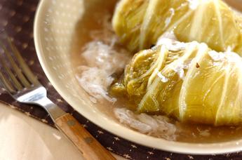 シーフードロール白菜