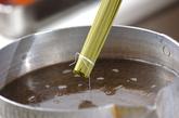 茶そば巻き寿司の作り方1