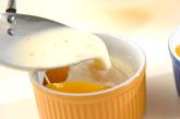 黄桃のフランの作り方2